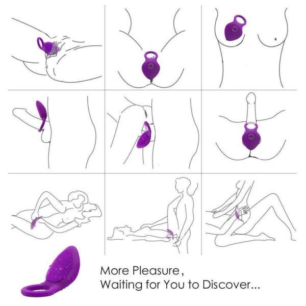 Heartley Meg Vibrating Cock Ring Massager