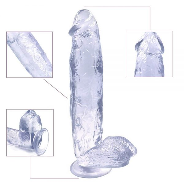 King Rider Large Realistic Suction Cup Dildo 12 Inch